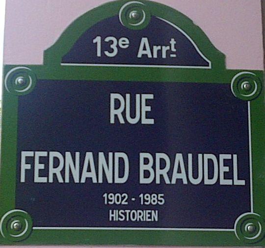 rue Fernand Braudel